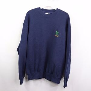 Vintage Ireland Spell Out Clover Crewneck Sweater